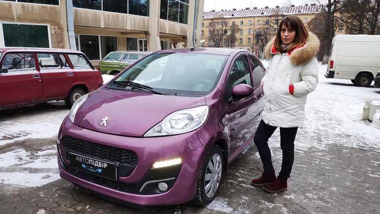 Peugeot 107 Envy АТ 2013