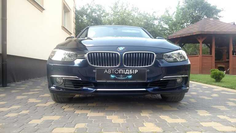 BMW 3 series Xdrive 2013