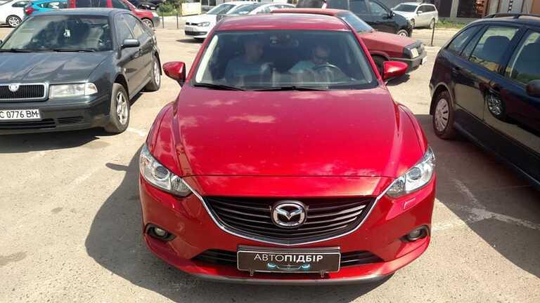Mazda 6 2.0 АКПП 2014