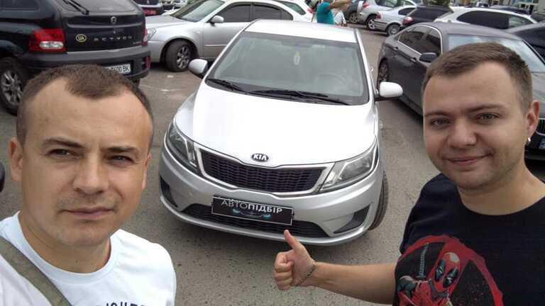 Kia Rio АКПП 1.4 ГБО 2013