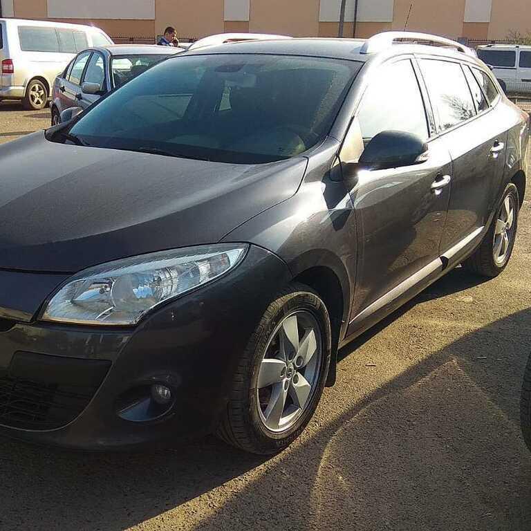Renault Megane Black 1.5 dci 2011