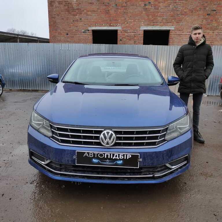 VW Passat B8 USA 1.8 2015